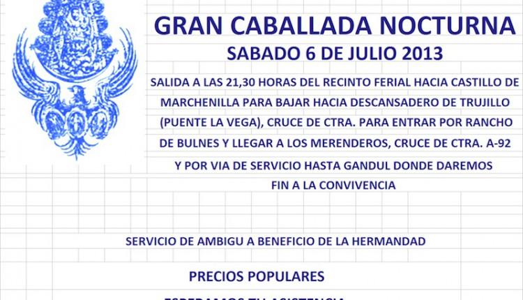 Hermandad de Alcalá de G. – Gran Caballada Nocturna