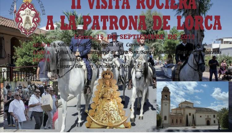 Hermandad de Lorca (Murcia) – Tradicional visita Rociera a la Patrona de Lorca