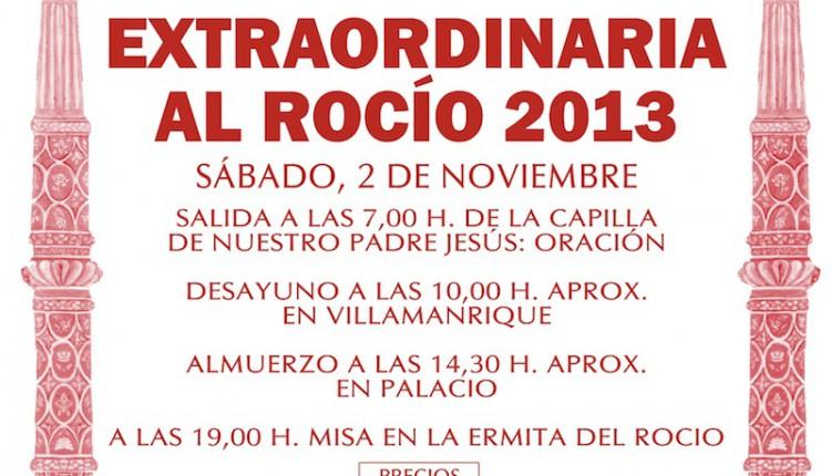 Hermandad de Aznalcazar – Peregrinación Extraordinaria al Rocio 2013