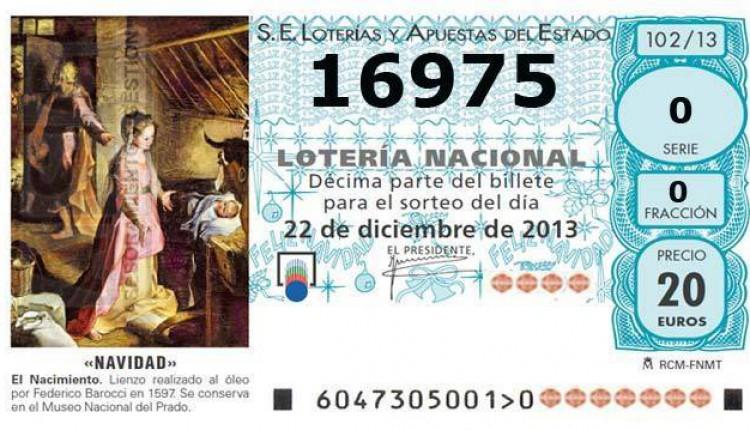 Ofrenda del Foro del Rocío 2013 – LOTERÍA DE NAVIDAD