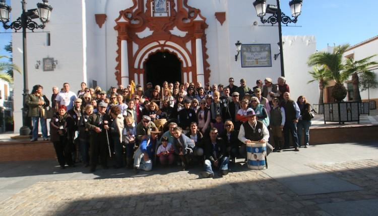 La Hdad de Torrejón de Ardoz peregrinó al Rocío y al Jubileo de la MACARENA.