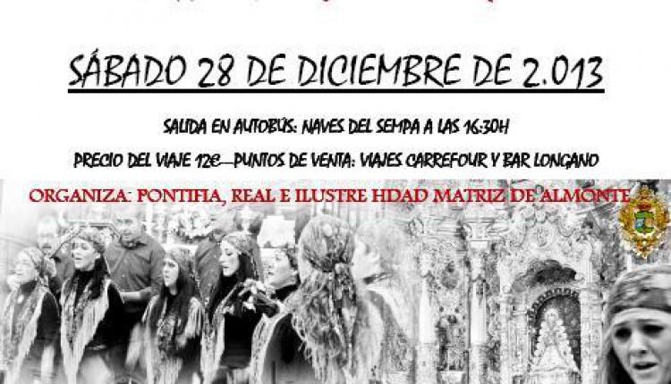 PROGRAMACIÓN ACTOS DE NAVIDAD 2013/2014DE LA HDAD DEL ROCIO DE LAS CABEZAS DE SAN JUAN