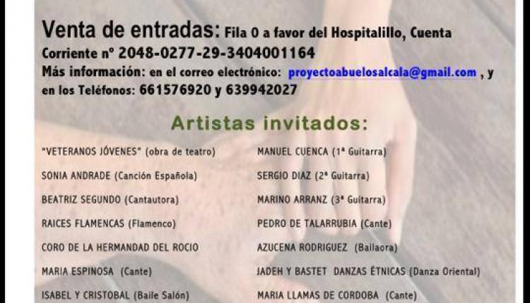 Hermandad de Alcalá de Henares – Colaboración en el PROYECTO ABUELOS ALCALA 2013