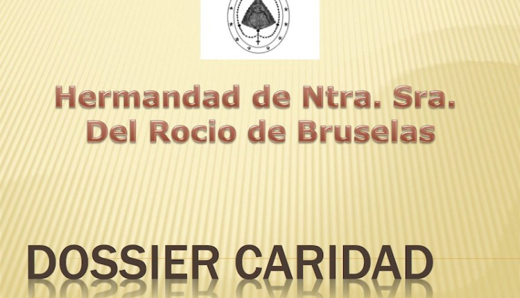 Hermandad de Bruselas – Misa Rociera, Cena Benéfica y Dosier de Caridad de noviembre