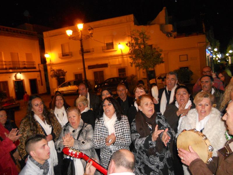 El Coro de Campanilleros Sabor Andaluz en un momento de su actuación