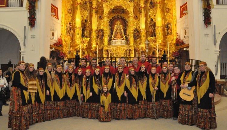 RECITAL DE VILLANCIOS DEL CORO DE CAMPANILLEROS -LOS CANASTEROS- en el Santuario