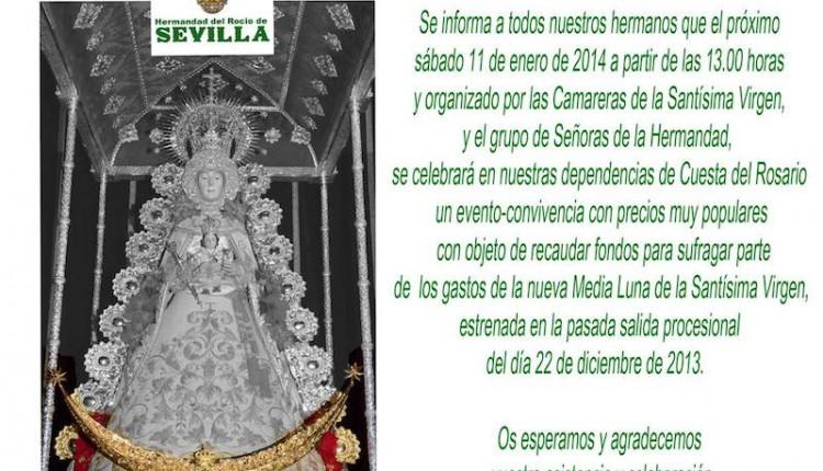 Hermandad de Sevilla El Salvador – Evento-Convivencia Pro media luna de Ntra. Sra.