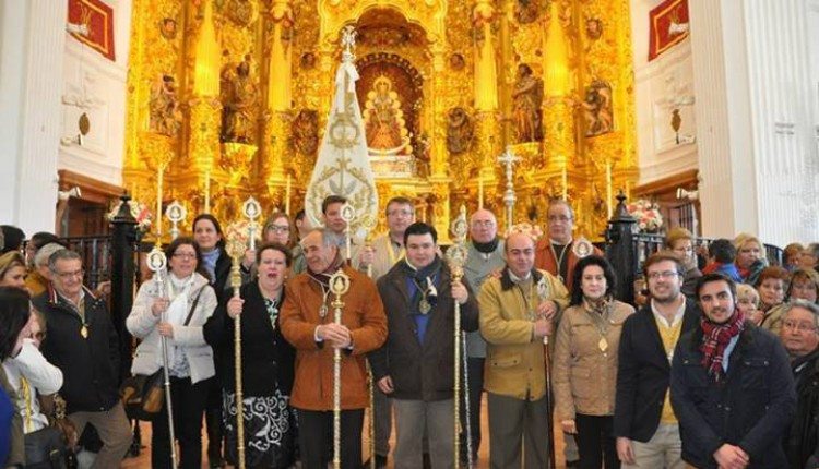 Misa anual de la Hermandad de Albaida del Aljarafe