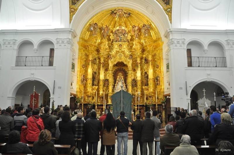 Foto rosario, Manuel Romero