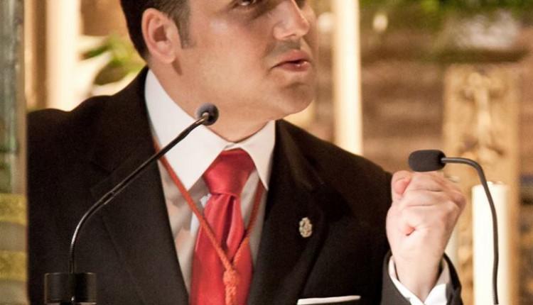 Faustino Rejo Palomo, designado Pregonero de la Hermandad del Rocío de Móstoles (Madrid)
