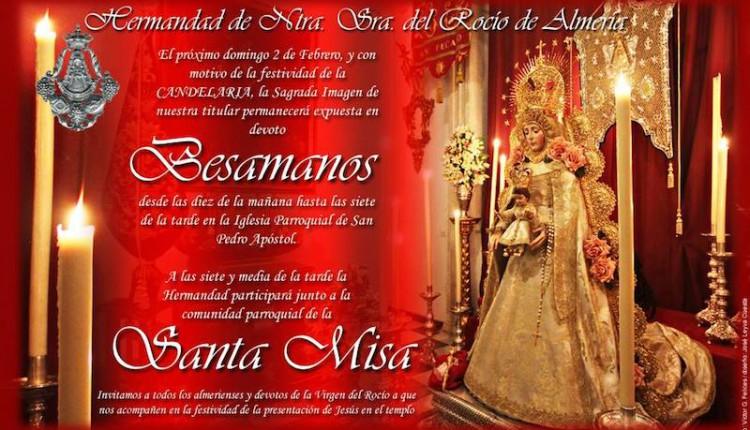 Hermandad de Almería – Besamanos y Santa Misa