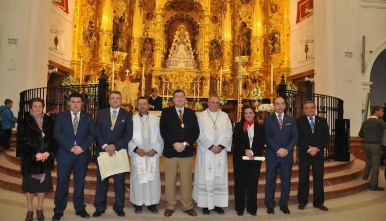 Acto de entrega de los nombramientos como Hermandades Filiales a Albaida del Aljarafe (nº 113) y Santa Fé de Granada (nº 114) –