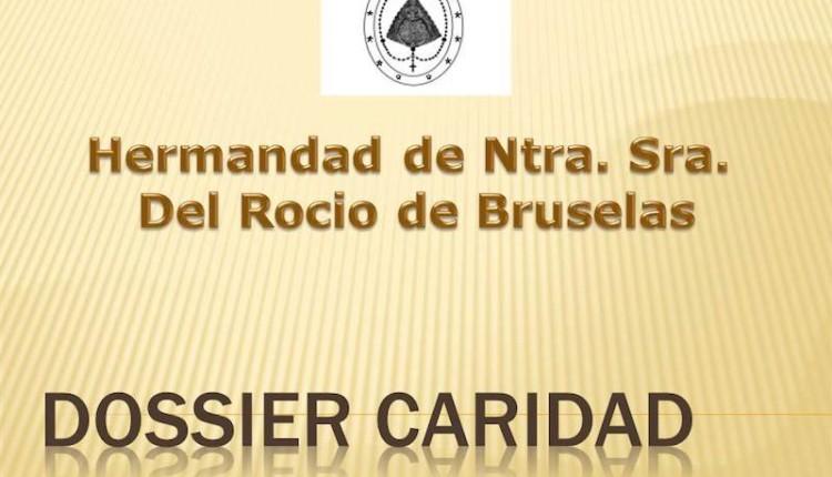 Hermandad de Bruselas – Dosier de Caridad del mes de enero