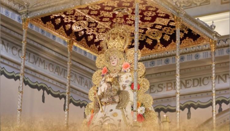 Agrupación Rociera del Cuervo – Celebración de su séptima misa en la Ermita de la Stma. Virgen del Rocío
