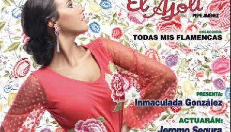 Hermandad de Huelva – Pase de Moda Flamenca de la firma -El Ajolí-
