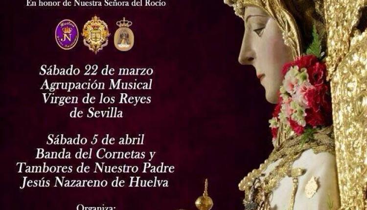 Cuaresma 2014 – Conciertos de Marchas Procesionales en Honor de la Virgen del Rocío