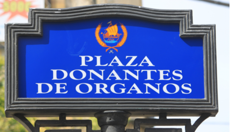 INAUGURADA LA -PLAZA DONANTES DE ÓRGANOS- EN CORIA DEL RIO
