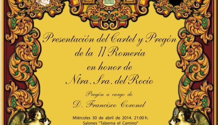 Hermandad de Lorca (Murcia) – Presentación Cartel romería 2014