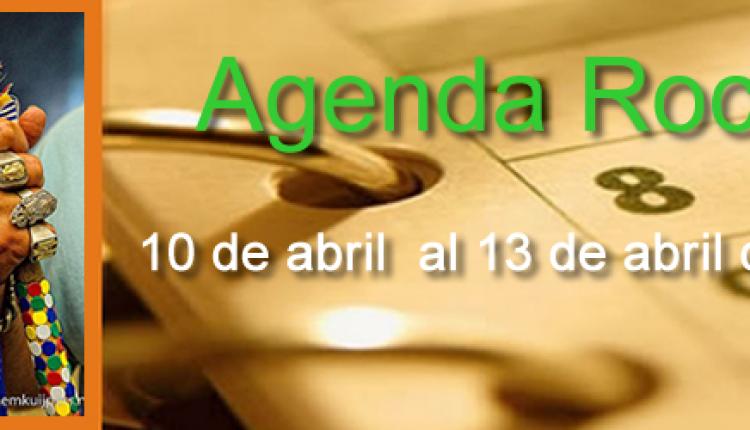 AGENDA ROCIERA DEL 10 AL 13 DE ABRIL
