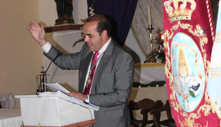 Agrupación Rociera del Cuervo – Cartel Boletín y entrega de Pastas al IV Pregonero