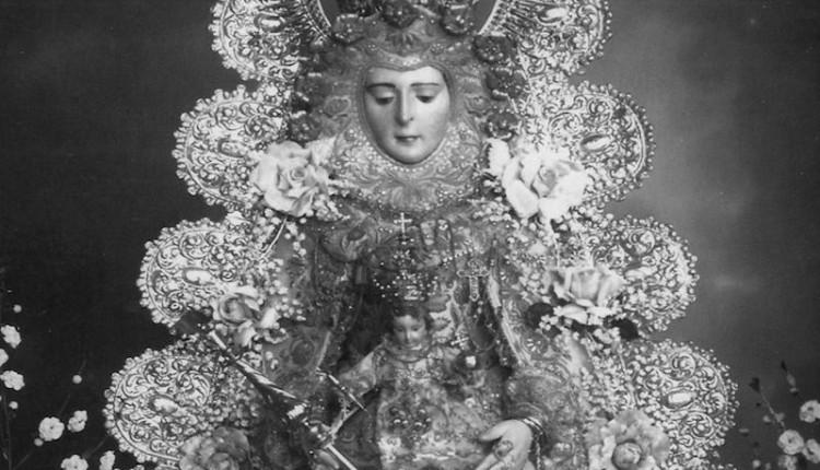 Una imagen de la Virgen realizada posiblemente entre 1924 – 1926