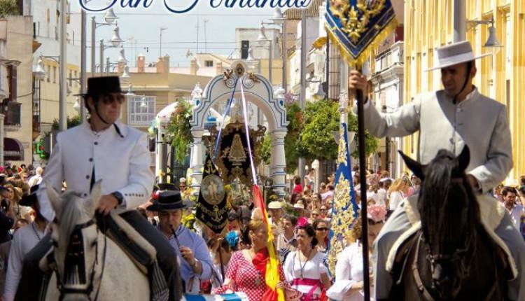Hermandad de San Fernando – Hdad del Rocío en el cartel de Las Gloria 2014 de San Fernando