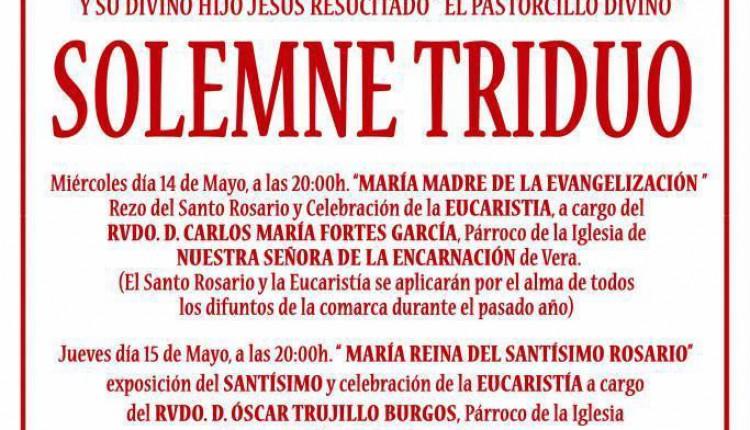 Hermandad de Garrucha – Solemne Triduo