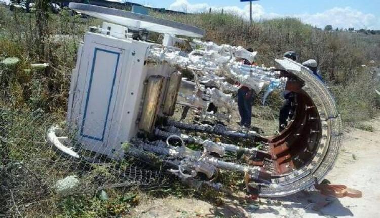 La Carreta de la Hermandad de Osuna sufre un accidente en el camino
