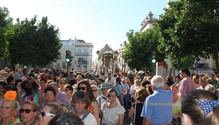 Hermandades del Rocío de Sevilla Capital – Itinerarios y Horarios de Salida y Llegada 2015