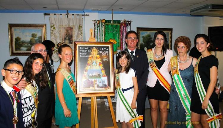 Casa De Andalucía de Benicarló – Proclamación de nuestros Rocieros Mayores 2014