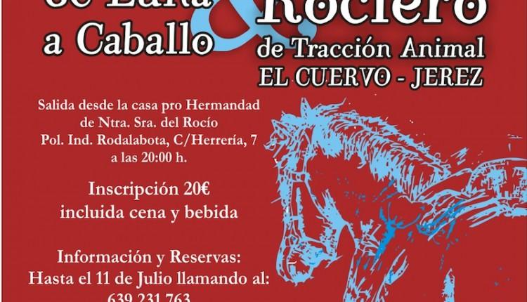 Agrupación de El Cuervo – III Noche de Luna a caballo