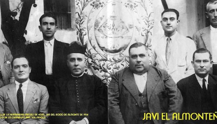 Simpecado de la Hermandad Matriz de Almonte de 1914