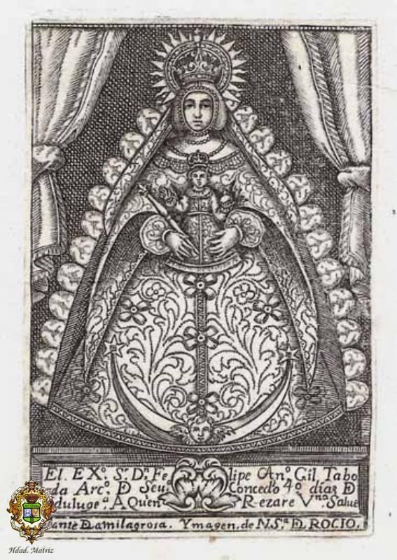 Grabado más antiguo conocido de 1720-1722.