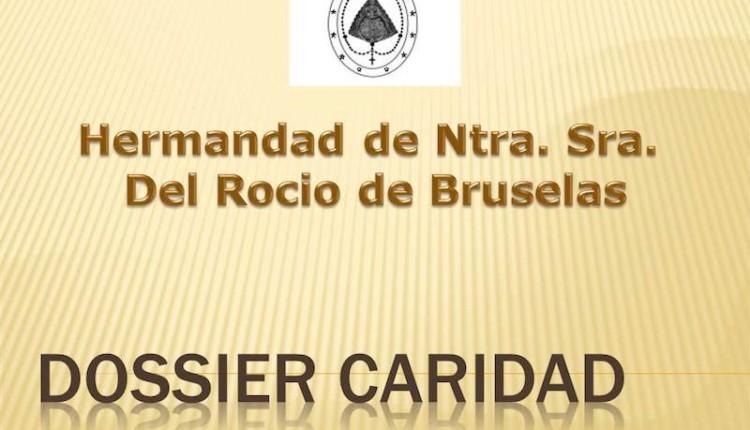 Hermandad de Bruselas – Dossier de la Bolsa de Caridad de la Hermandad del mes de septiembre del 2014