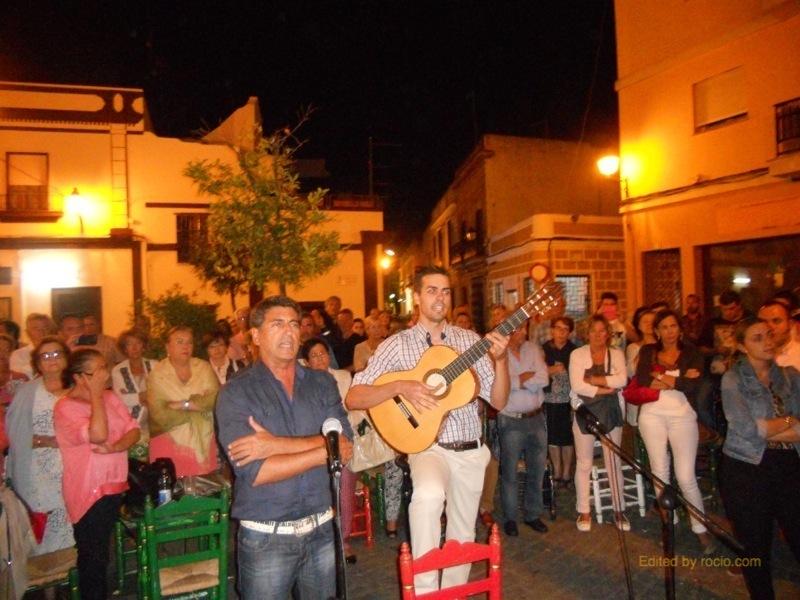 Pepe de la Punta y Jesús Barroso interpretando la Salve