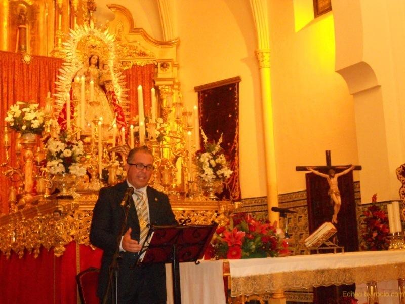 Momento de la Exaltación a la Virgen del Rosario por Pedro Jesús Álvarez Rodríguez