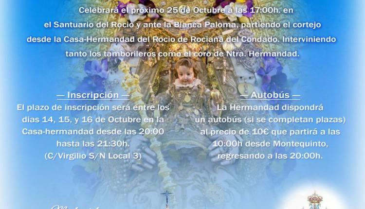 Hermandad de Montequinto – Peregrinación extraordinaria y Calendario de Cultos 2014