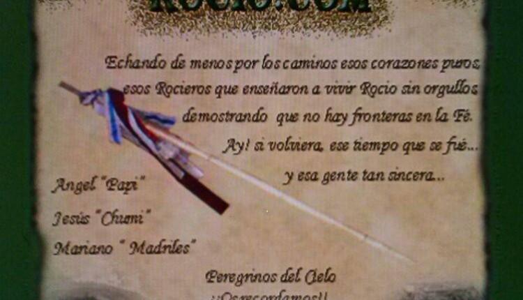 XIII Peregrinación del FORO ROCIO.COM del 24 al 26 de octubre