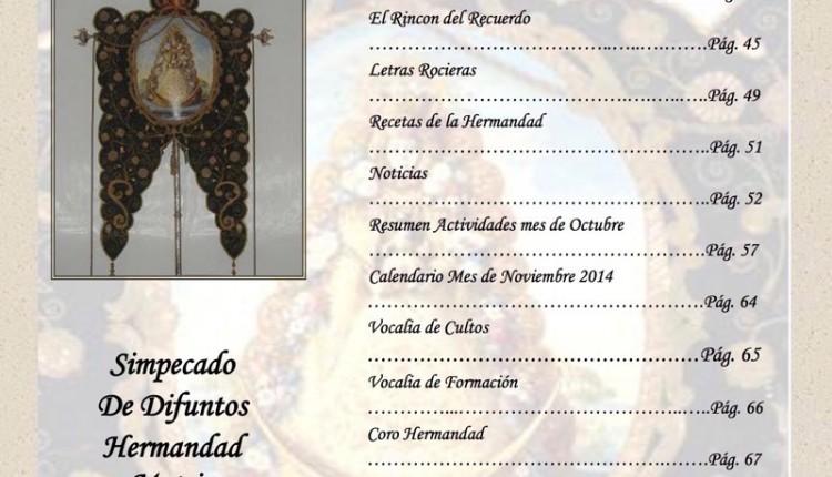 Hermandad de Albacete – Boletín de noviembre 2014