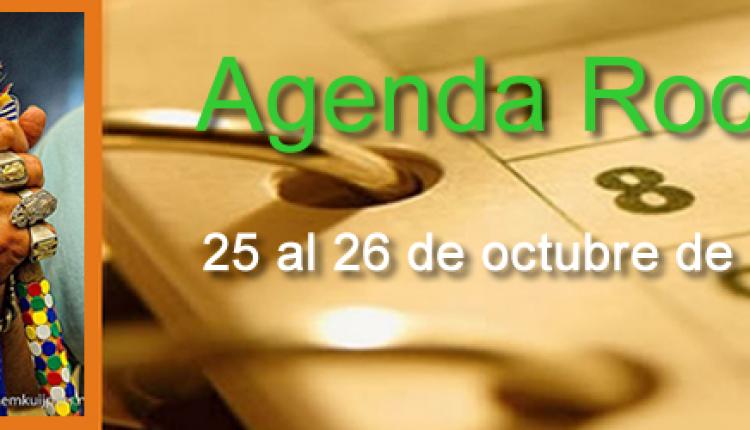AGENDA ROCIERA DEL 25 Y 26 DE OCTUBRE
