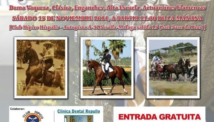 Hermandad de Alcalá de Guadaíra – I Exhibición Ecuestre Pro-Restauración de nuestra carreta de plata