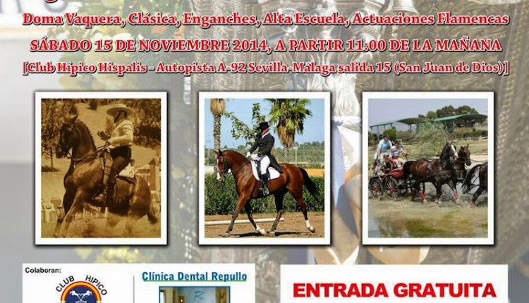 Hermandad de Alcalá de Guadaíra – I Exhibición ecuestre Pro-Restauración de nuestra Carreta de Plata en el Club Hípico Híspalis.