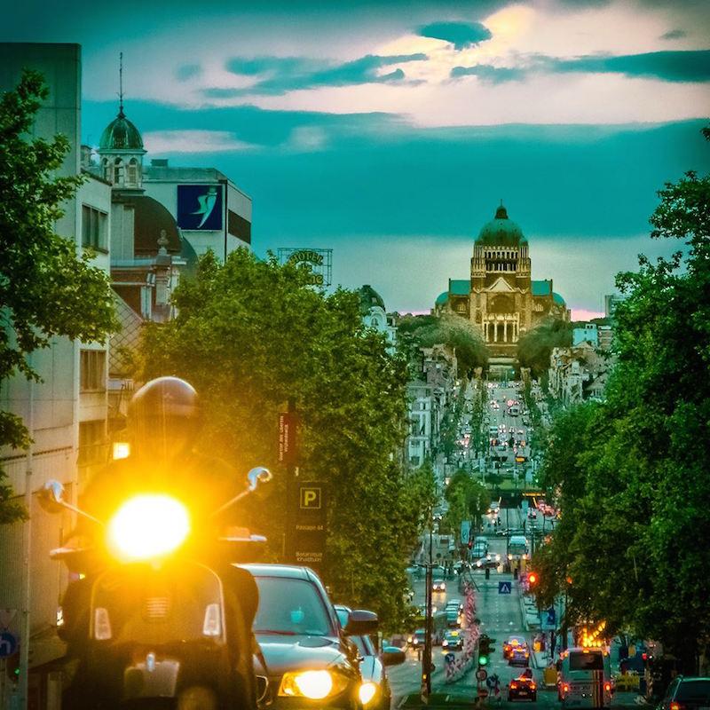 Brussels - Koekelberg Basilique, en donde se encuentra el Bendito Simpecado de la Hdad. de Bruselas. (Foto - Hatim Kaghat)
