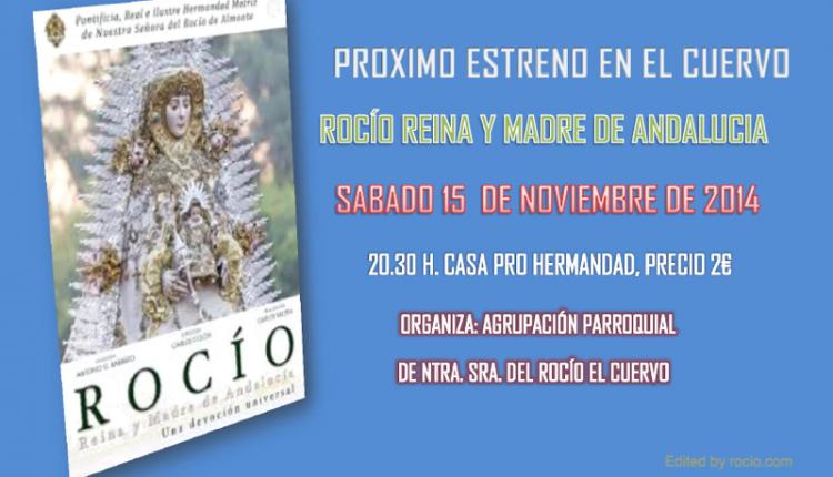 Agrupación Parroquial de El Cuervo – Estreno en El Cuervo de: Rocío Reina y Madre de Andalucía