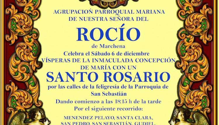 Agrupación Parroquial de Marchena – Santo Rosario por la feligresía de la parroquia de  San Sebastián Mártir