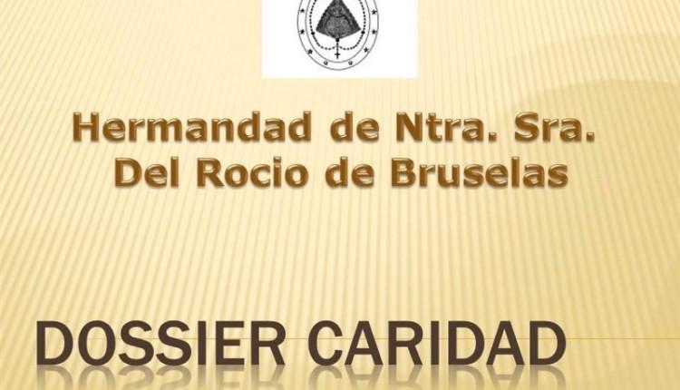 Hermandad de Bruselas – Dossier de la Bolsa de Caridad de la Hermandad del mes de diciembre del 2014