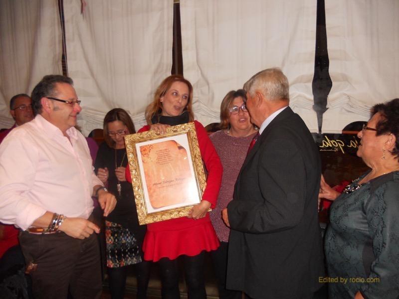 La Peña -La Bota-, fundada por Alfonso, se une al homenaje