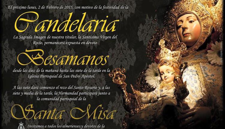 Hermandad de Almería – Celebración de la Candelaria 2015