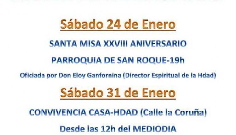 Hermandad de Las Cabezas de San Juan – Actos XXVIII Aniversario