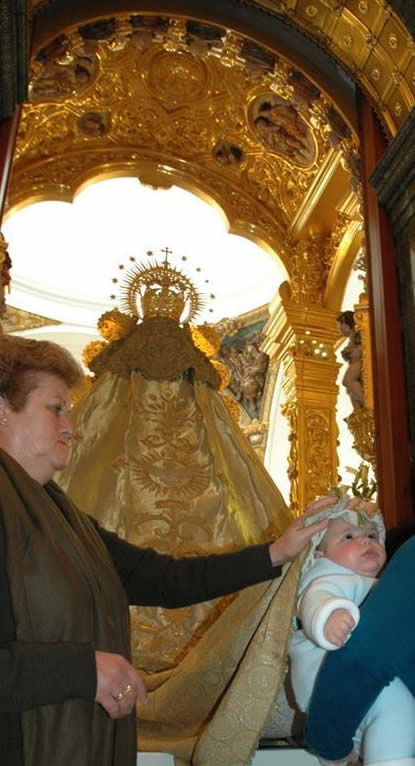 Presentación de los niños a la Virgen